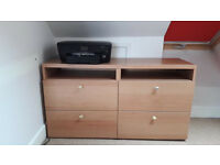 Tv stand unit bench Ikea