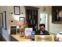 Part time Hotel Receptionist - 24 hours per week, immediate start, Clifton, Bristol