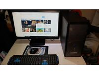 ZOOSTORM FULL PC SYSTEM AMD A4-5300 CPU, 500gb HARD DRIVE, 8gb DDR3 MEMORY,