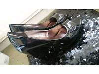 Brand new peep toe shoes never worn size 7