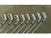Wilson Staff FG Tour V2 irons 3-PW Excellent condition.