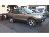 breaking for parts 2001 Hyundai Santa-Fe 2.7 V6 auto (petrol)