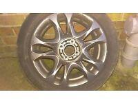 fiat 500 sport alloy wheel