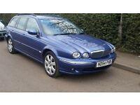 jaguar x type diesel estate beautiful low mileage car 2 owners 2 keys service history lovely cond