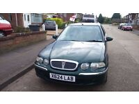 Selling Rover in driving condition with mot
