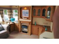 Pet friendly 2 bed static caravan to rent