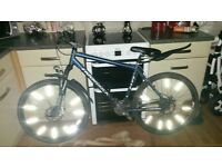 gents ridgeback mx4 mountain bike, hybrid bike, stunt, jump, off-road cararra barracuda saracen bmx