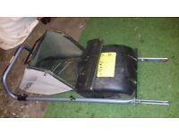 Honda IZY HRG415C petrol lawnmower parts: grass box door rear deflector flap etcc