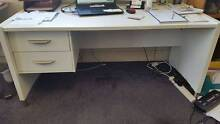 2x White Office Desks (with 2 Drawers) Woollahra Eastern Suburbs Preview