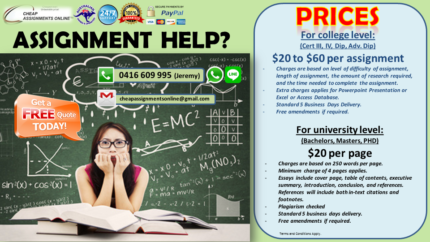 Cheap and Good Assignment Help is here!