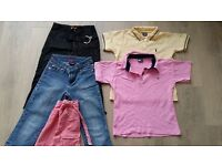 Branded girls clothes bundle age 8yrs