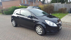 60 PLATE VAUXJHALL CORSA EXC-IV 1.3 CDTI, ROADTAX EXUMPT, LADY OWNER, 9 MONTHS MOT, only 56k,