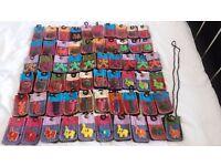 BRAND NEW. 50 x CUTE MOBILE PHONE HOLDERS CAMERA CASES FOR CHILDREN KIDS BOYS GIRLS LADIES