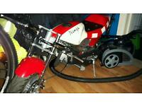 Mini moto 49cc not pitbike quad