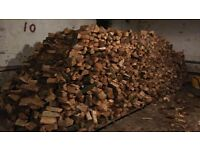 Dry Seasoned Mixed and Hardwood Logs for Sale Based in Guiseley Leeds Free Delivery