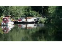 50x12ft Dutch barge for sale