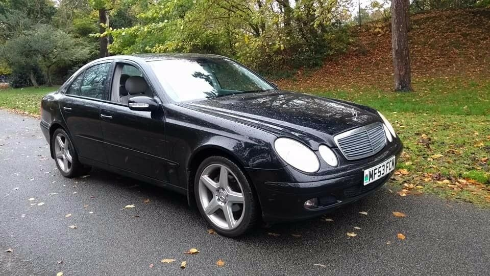 New shape Mercedes E220 CDI, semi Auto, S/history, leather. AMG alloys, P/x welcome only £1199