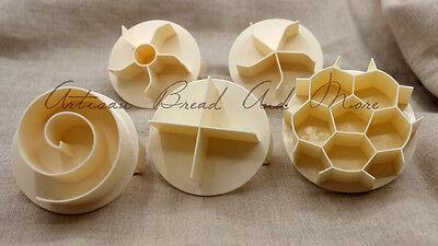 Bread Roll Stamp Dough Press Kaiser Roll Shaper German Bread Brotchen Puncher