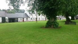 2 bed ground flat for swap in a stunning village in the borders.