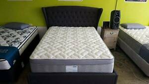 SHERIDAN PADDED BED FRAME - KING AND QUEEN AVAILABLE Richmond Yarra Area Preview