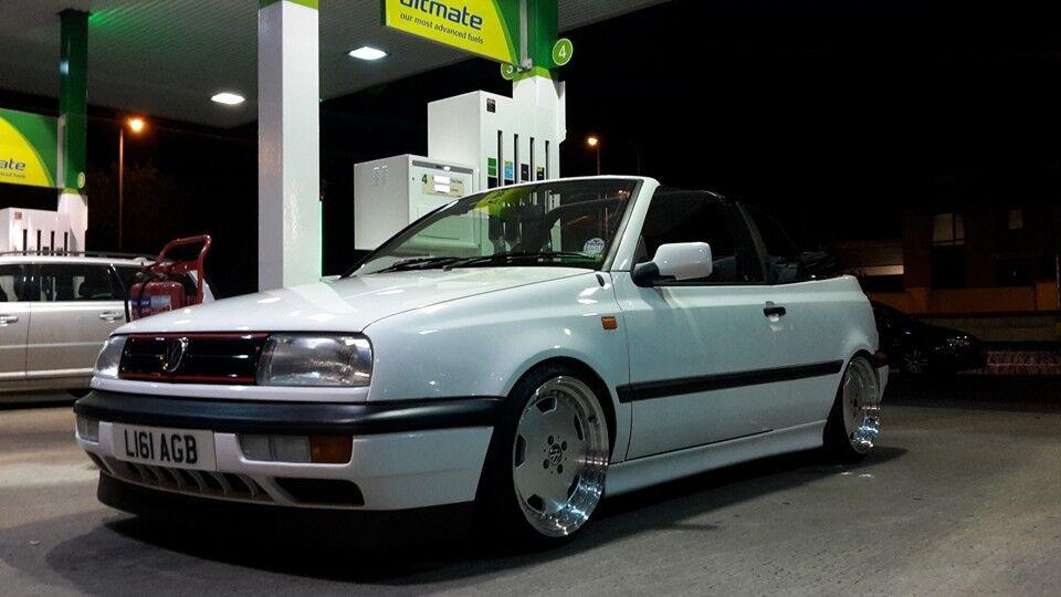 1994 Volkswagen Golf Mk3 Cabrio With Vento Front Original