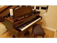 Challen baby grand piano - immaculate condition!