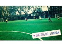 Saturday football - Central London - Everyone welcome!