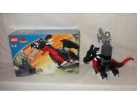 Lego Duplo 4784 Black Dragon & Knight - Complete & Boxed without Instructions
