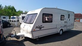 Bailey Pageant Champagne 4 berth caravan 2005 AWNING, VGC, BARGAIN !