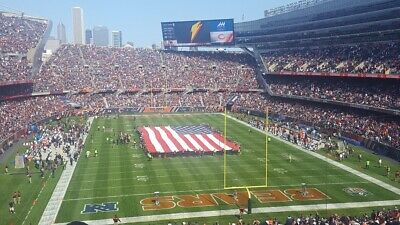 2 Tickets Chicago Bears Vs Packers - October 10/17/2021 Soldier Field - Aisle - $494.00
