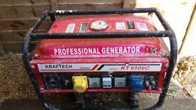 Kraftech KT-6500C Petrol Generator 6.5HP