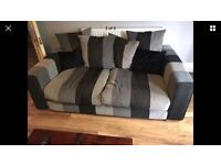 Sofology 3 seater grey sofa 18 months old £175ono