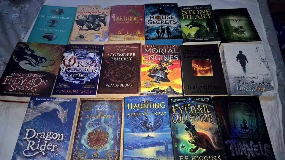 Collection of 17 young adult books