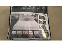 Dreamland Boutique Hotel Heated Mattress Protector Double - As New