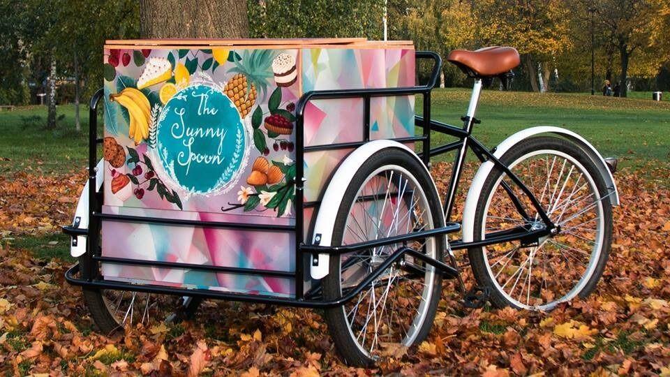 catering cargo bike box stock trike bike ice cream bike coffee bike in hoxton london. Black Bedroom Furniture Sets. Home Design Ideas
