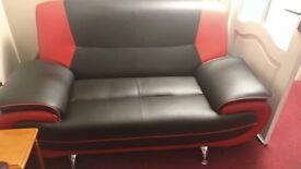 Leather Sofas Set: Like New