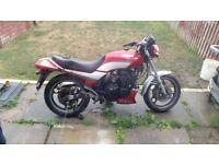 1990 Yamaha xj 600 project