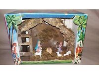 Christmas Nativity Set Hand Painted and Crafted - Boxed