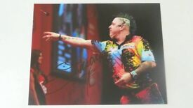 Darts In-Person Obtained Genuine Autographs