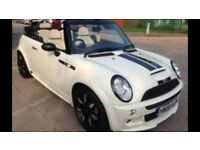 2008 mini cooper s convertible limited edition sidewalk bodykit leathers xenons cruise 60k fsh £3995