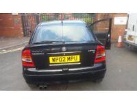 For sale Vauxhall Astra 1.6 petrol manual MOT12mths,