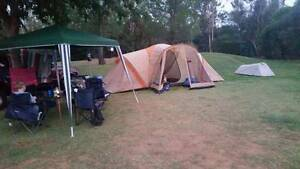 3 Room Tent with annexe Dapto Wollongong Area Preview