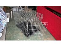 For sale Large Cage £30 for Dog/Cat collapsible for storing