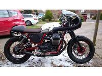 Moto Guzzi V7 II Racer (893 miles)