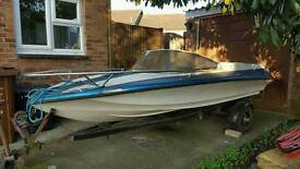 Shakespeare speedboat 16ft