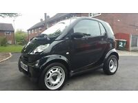 LOW MILAGE 2003 SMART CITY PURE 61 SEMI-AUTO BLACK £30 A YEAR ROAD TAX 11 MONTHS MOT
