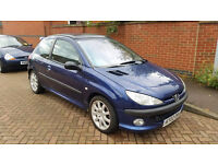 PEUGEOT 206 GTI MOT VERY CLEAN FOR AGE DRIVES WELL TRACK CAR??