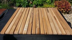 timber engineered slats