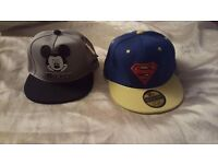 Kids snapback caps 2-6 year olds brand new £5
