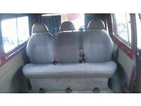 2000 ford transit minibus back 3 seater £150 ono